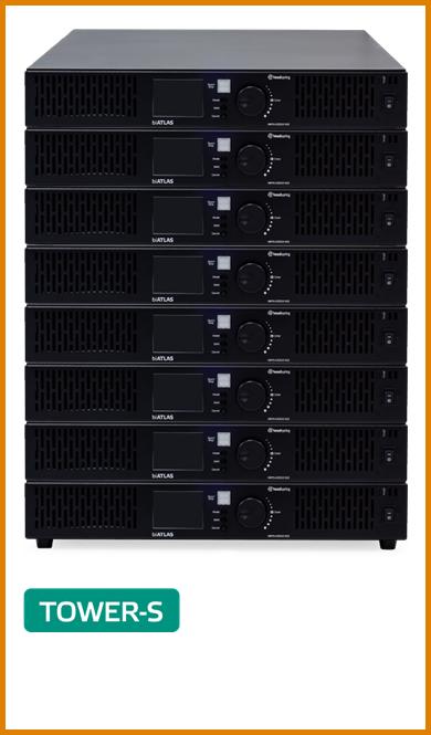 1000V/525VコンパチブルパッケージTOWER-S=40kW:製品写真枠付