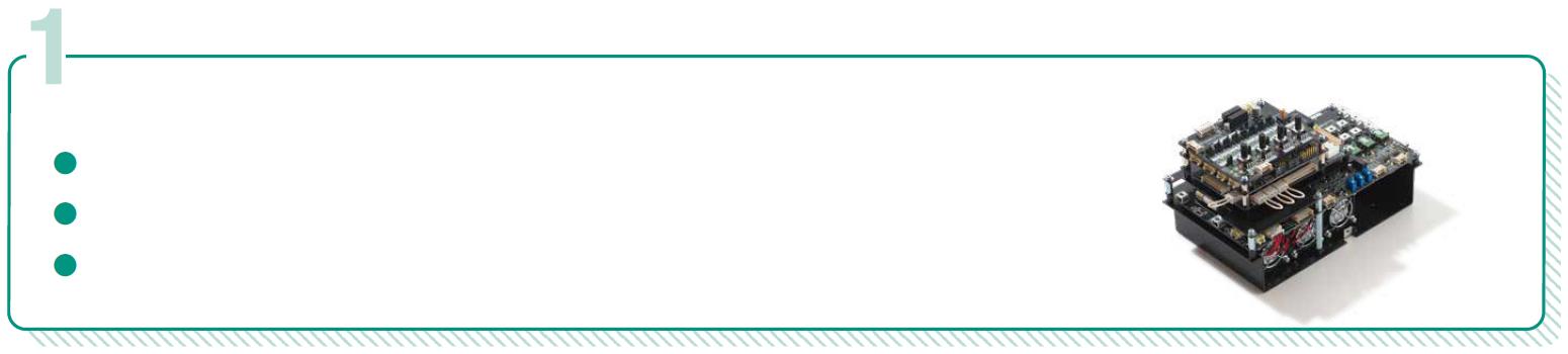 パワーエレクトロニクス基礎実験システムを構成する際、必要となるヘッドスプリングの標準製品のリスト:bi-RAPID SiC実験キットの写真